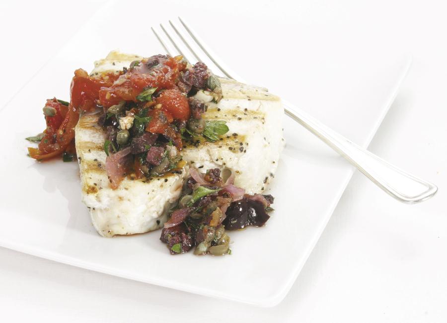 grilled puttanesca