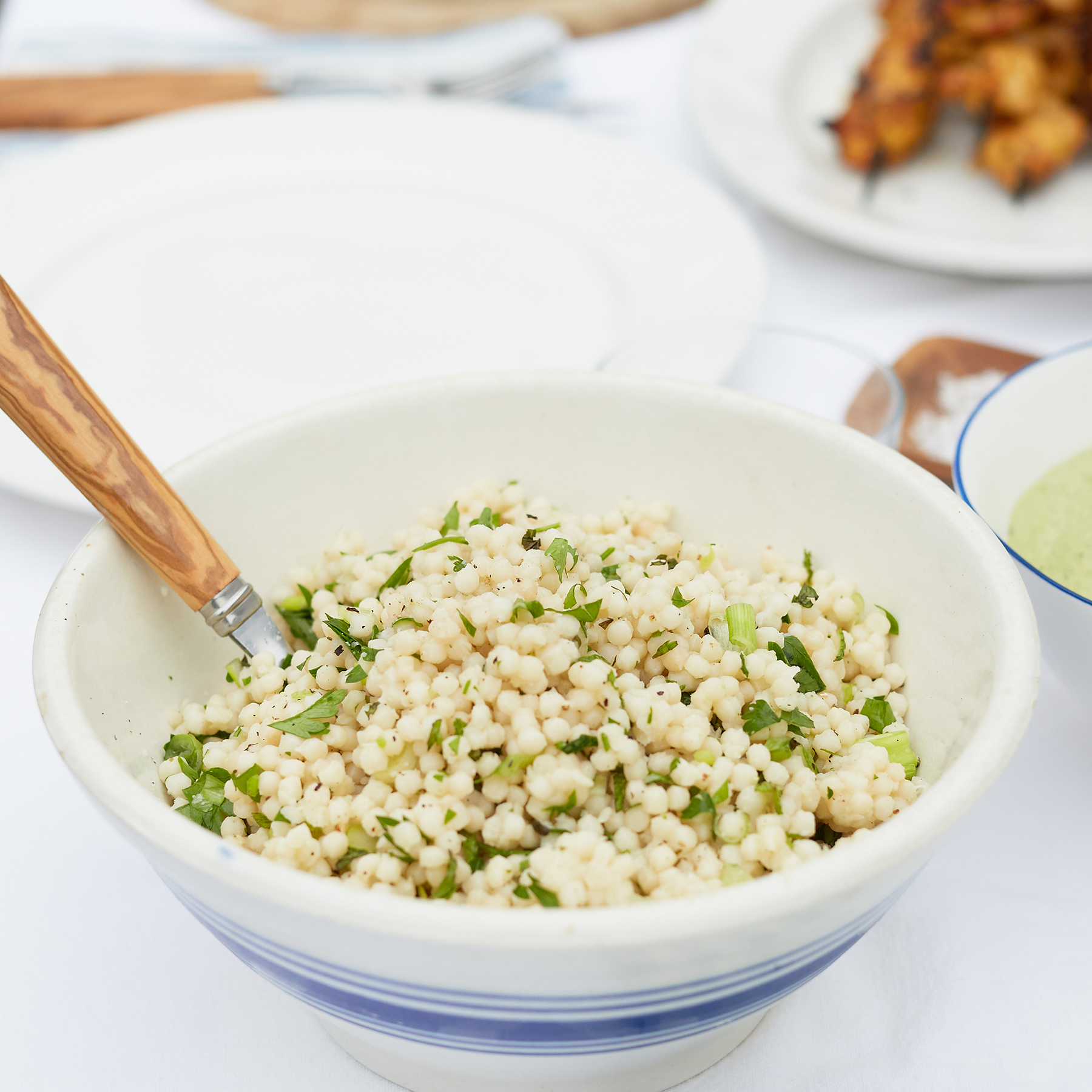 mint + parsley couscous