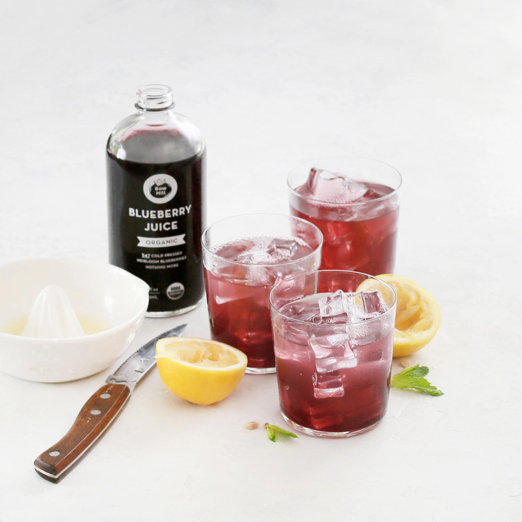 sparkling blueberry soda