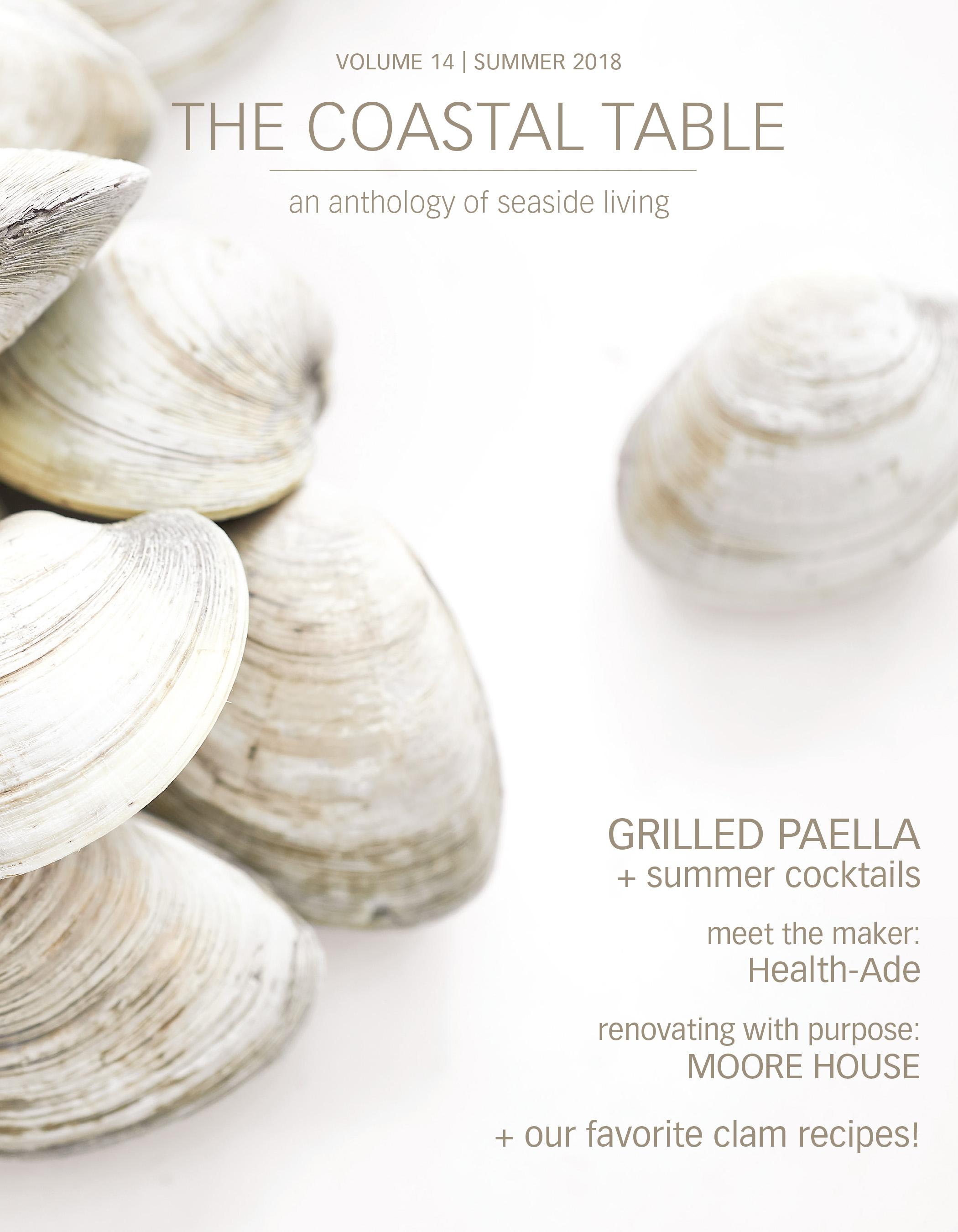 the coastal table summer 2018