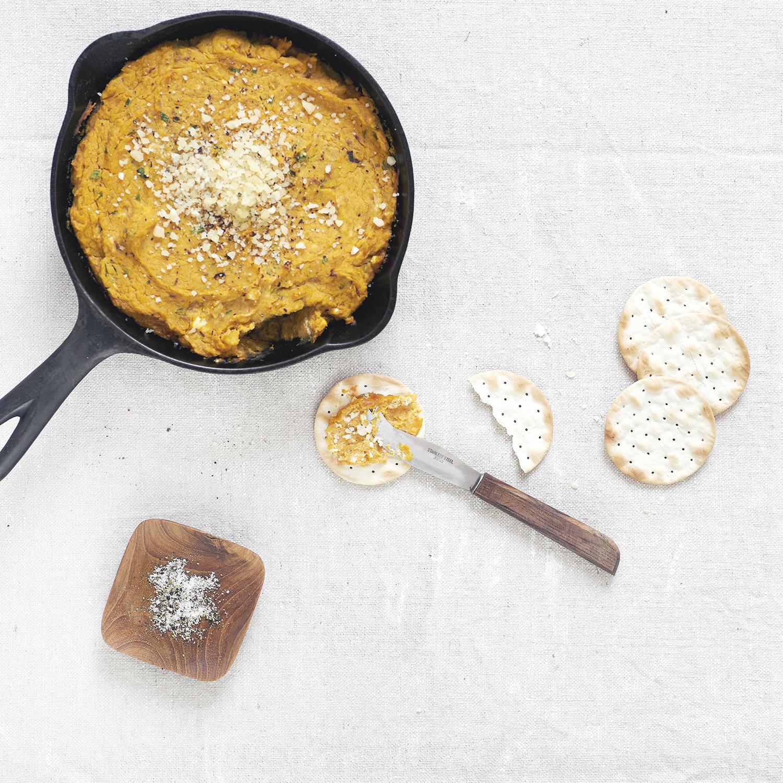 warm butternut squash dip