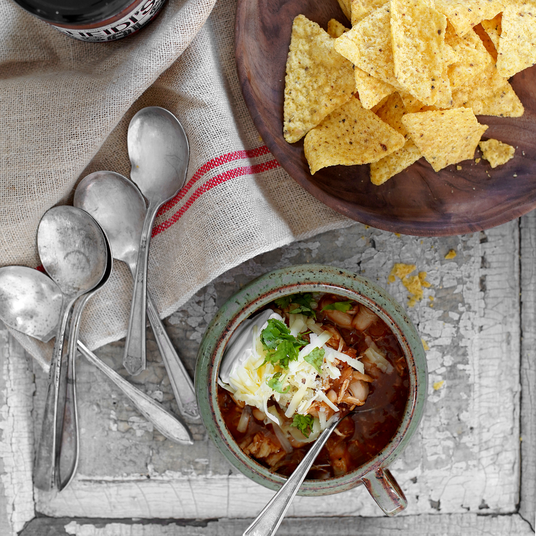 salsa chicken chili