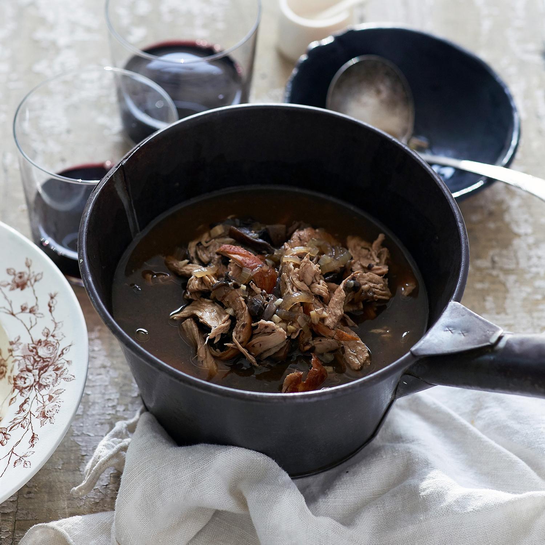 chicken Marsala soup