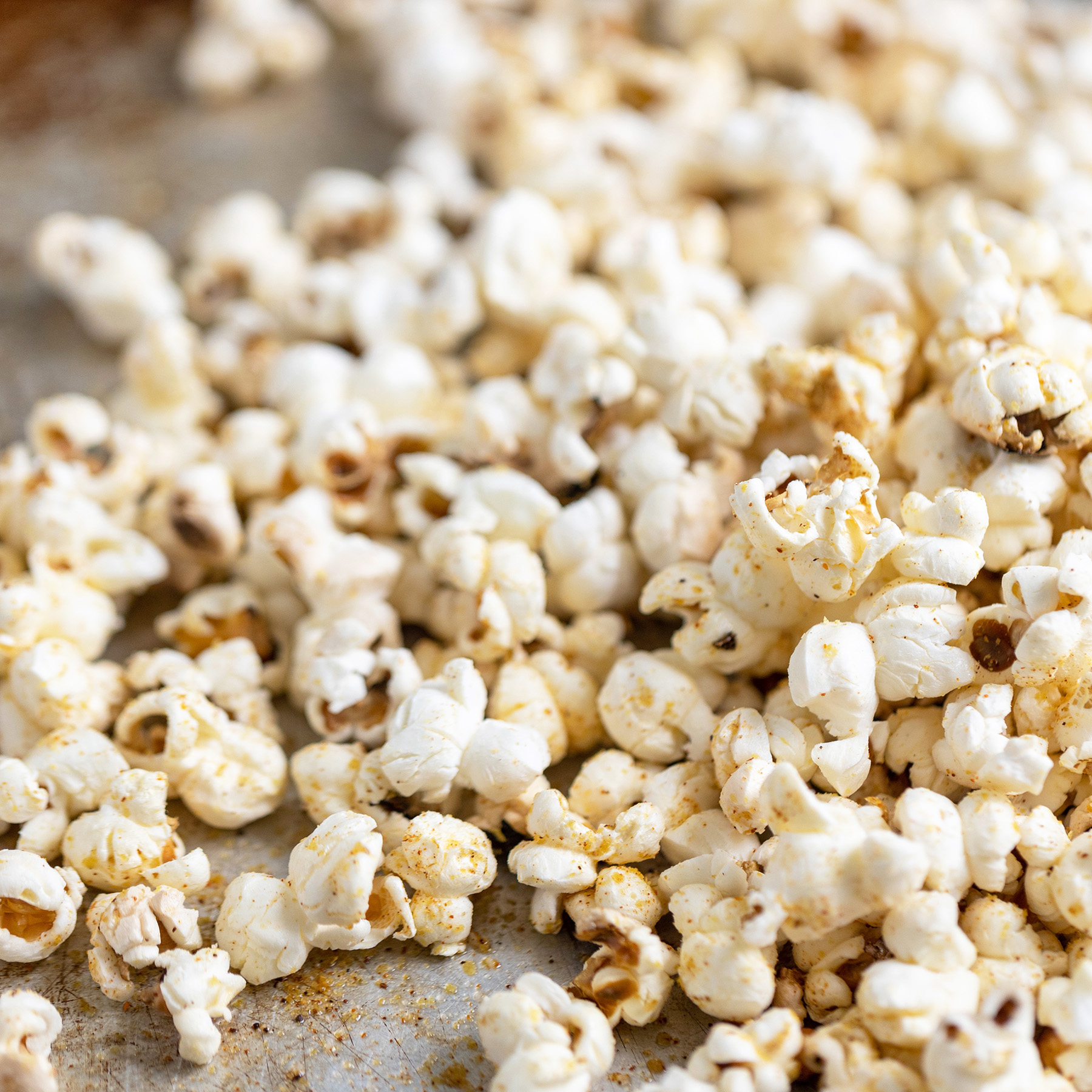 nacho-style popcorn