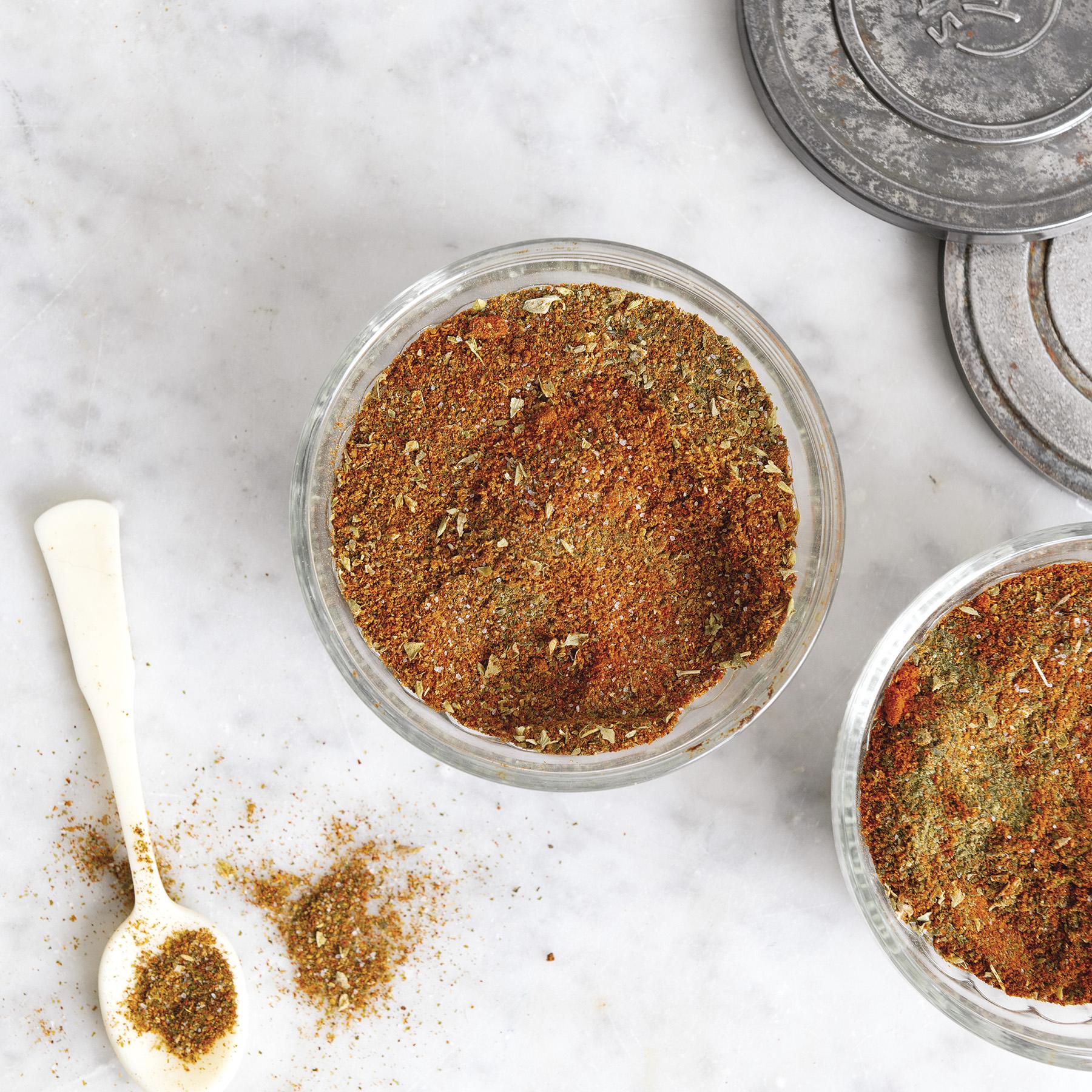 ground kelp chili rub
