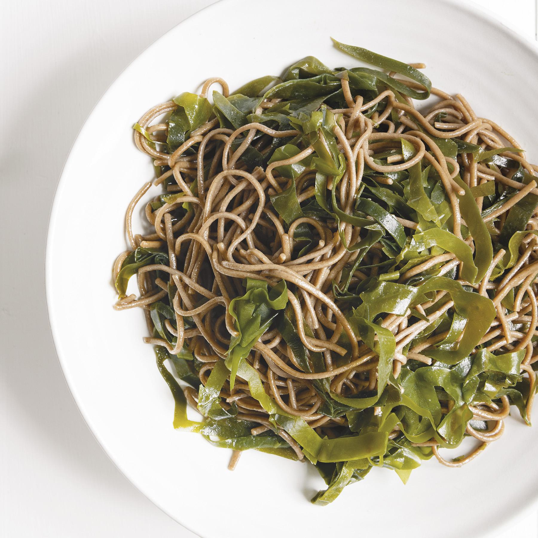 kelp noodle bowl