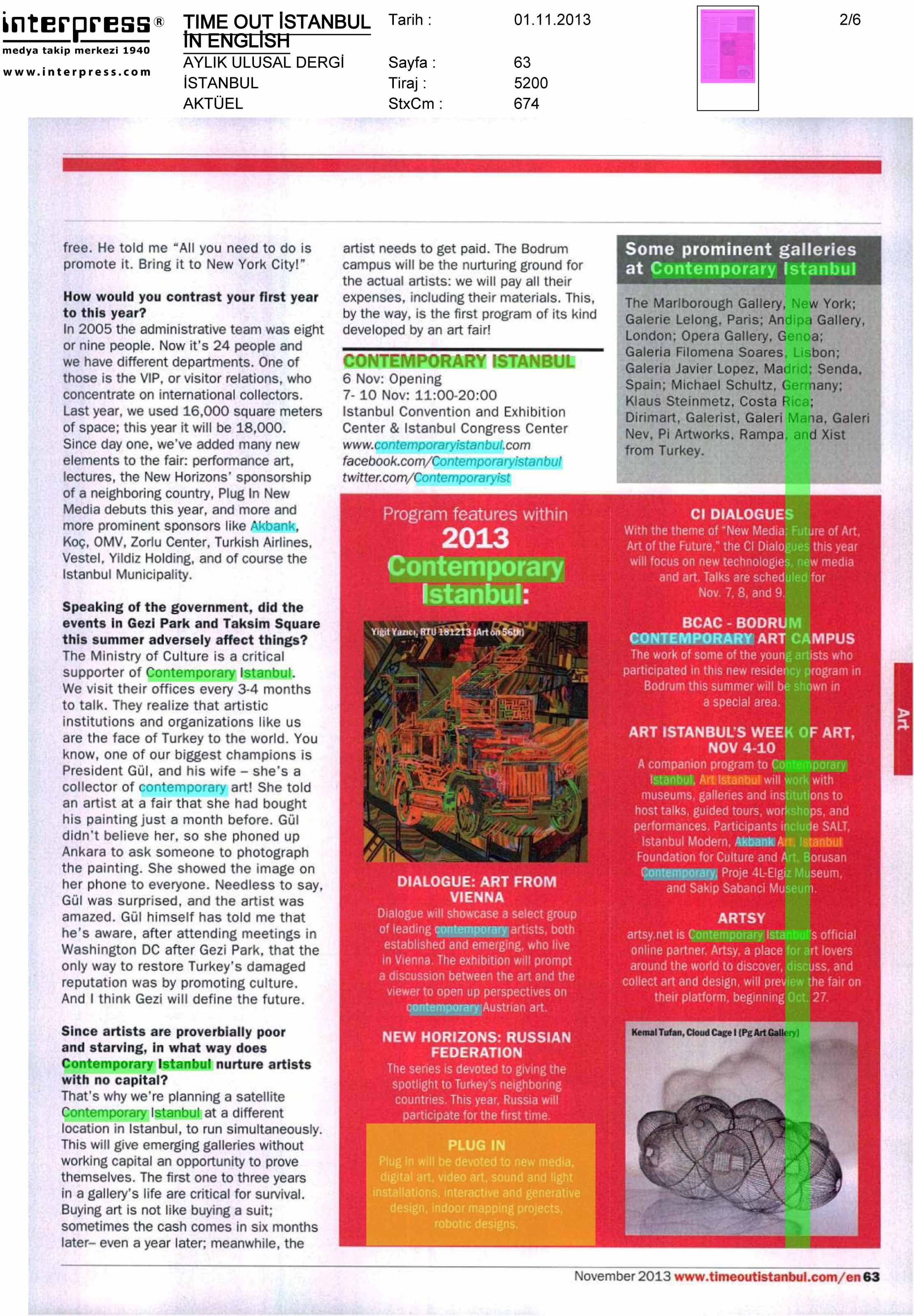 Time Out Istanbul in English - Ulusal Aylık Dergi - 01.jpg