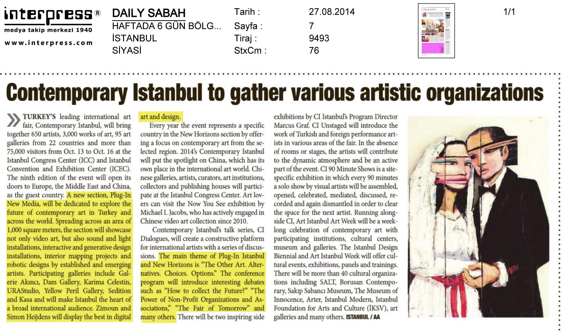 Daily Sabah - Bölgesel Haftada 6 gün gazetet  27-08.jpg