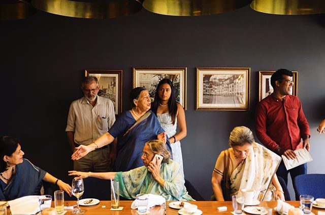 Indian family portrait, attempt #22  #tableauvivant #portrait #supper #90thbirthday #india #photography #life