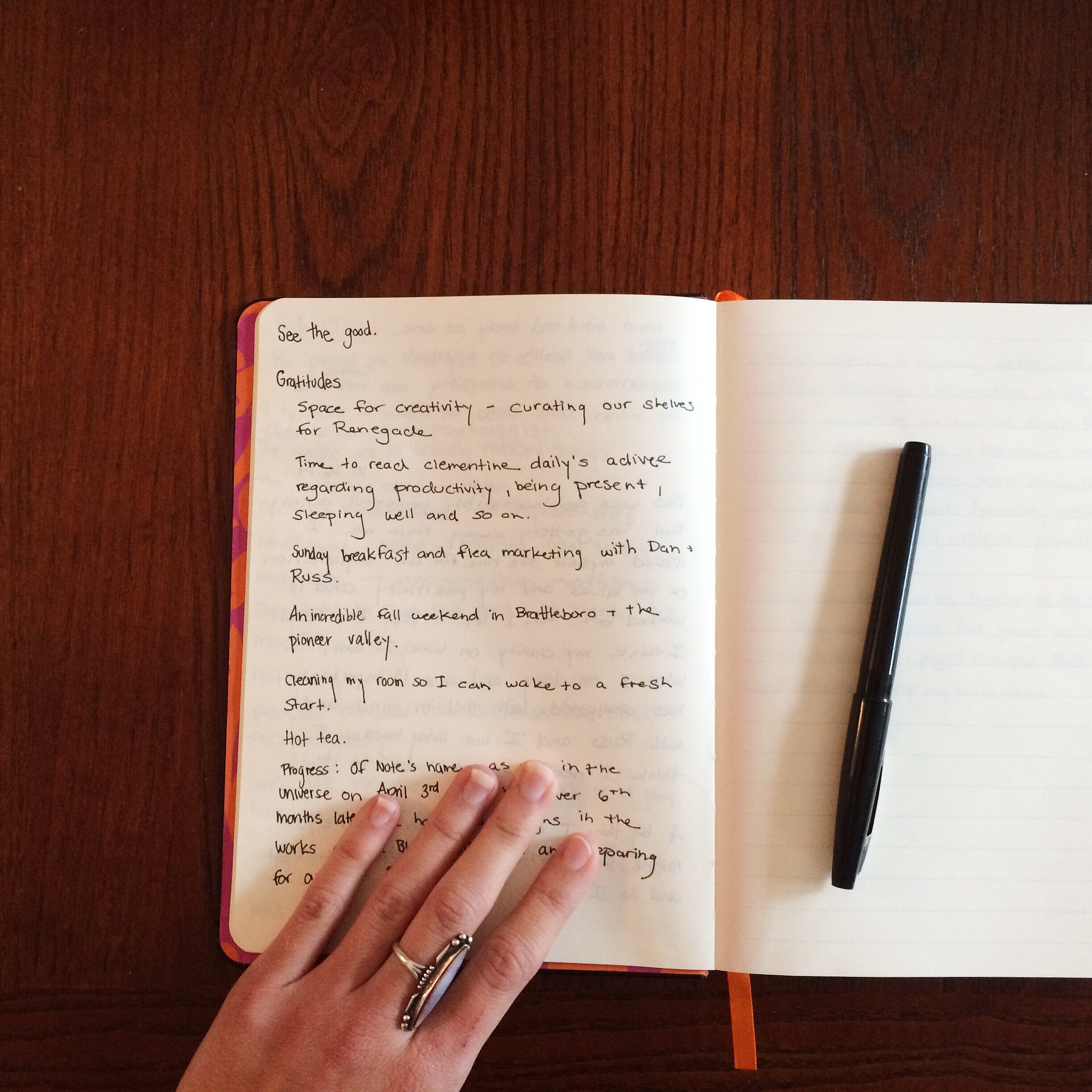Gratitude Journal | Of Note Stationers