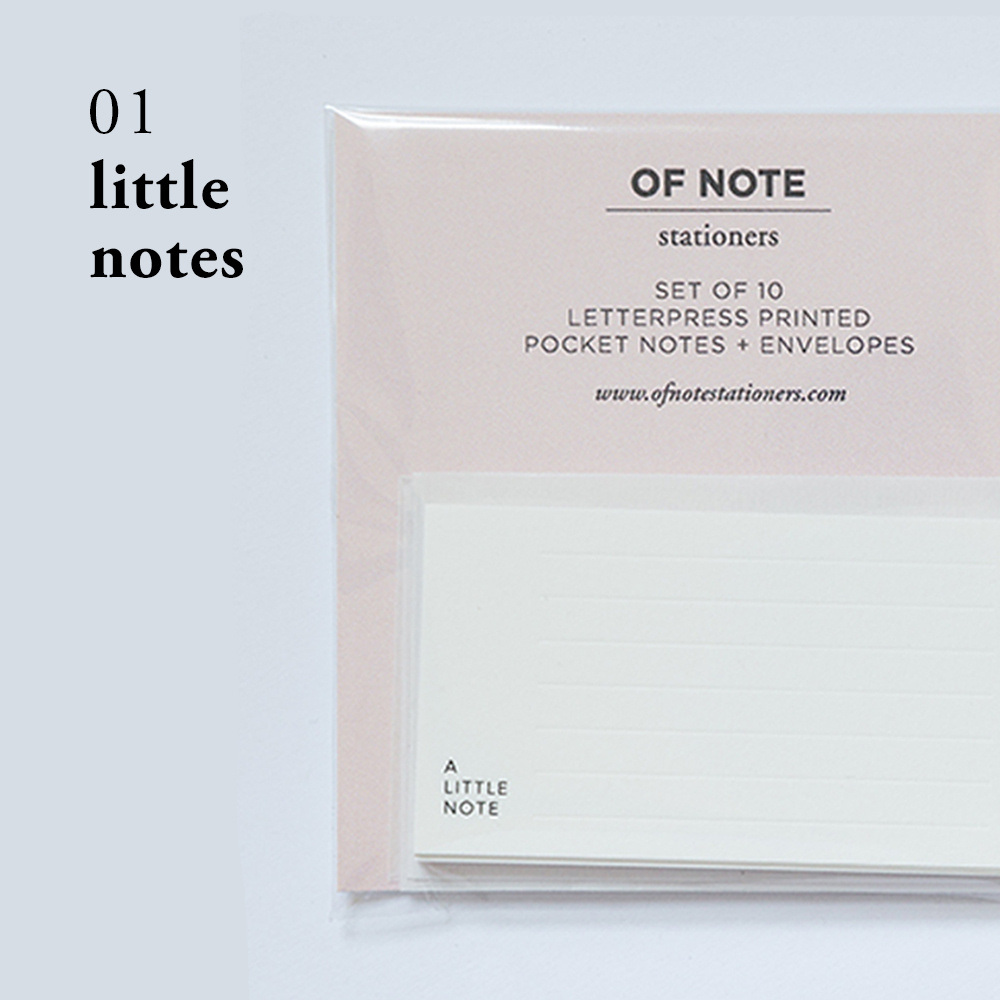 Little Notes | Of Note Stationers