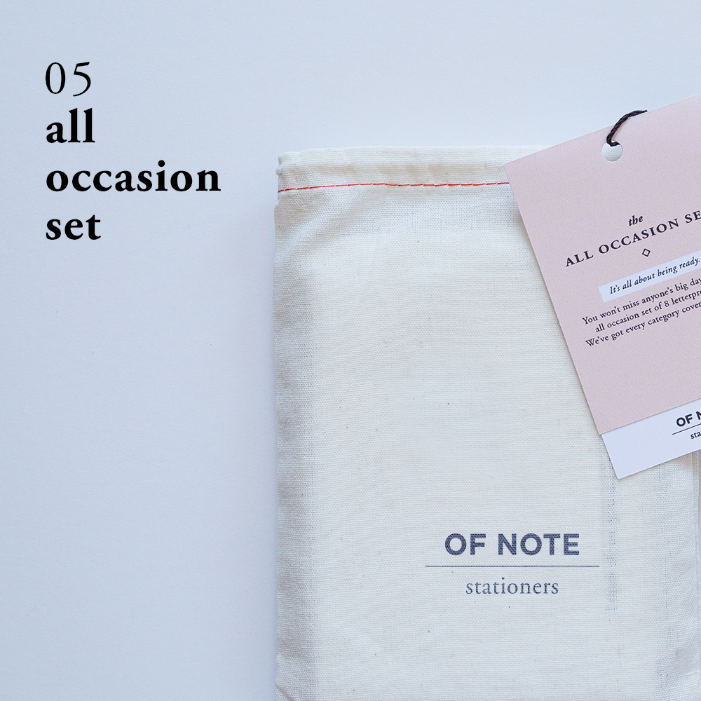 All Occasion Set   Of Note Stationers