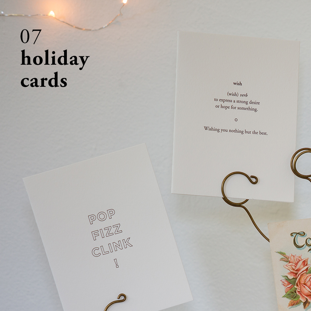 Holiday Cards | Of Note Stationers