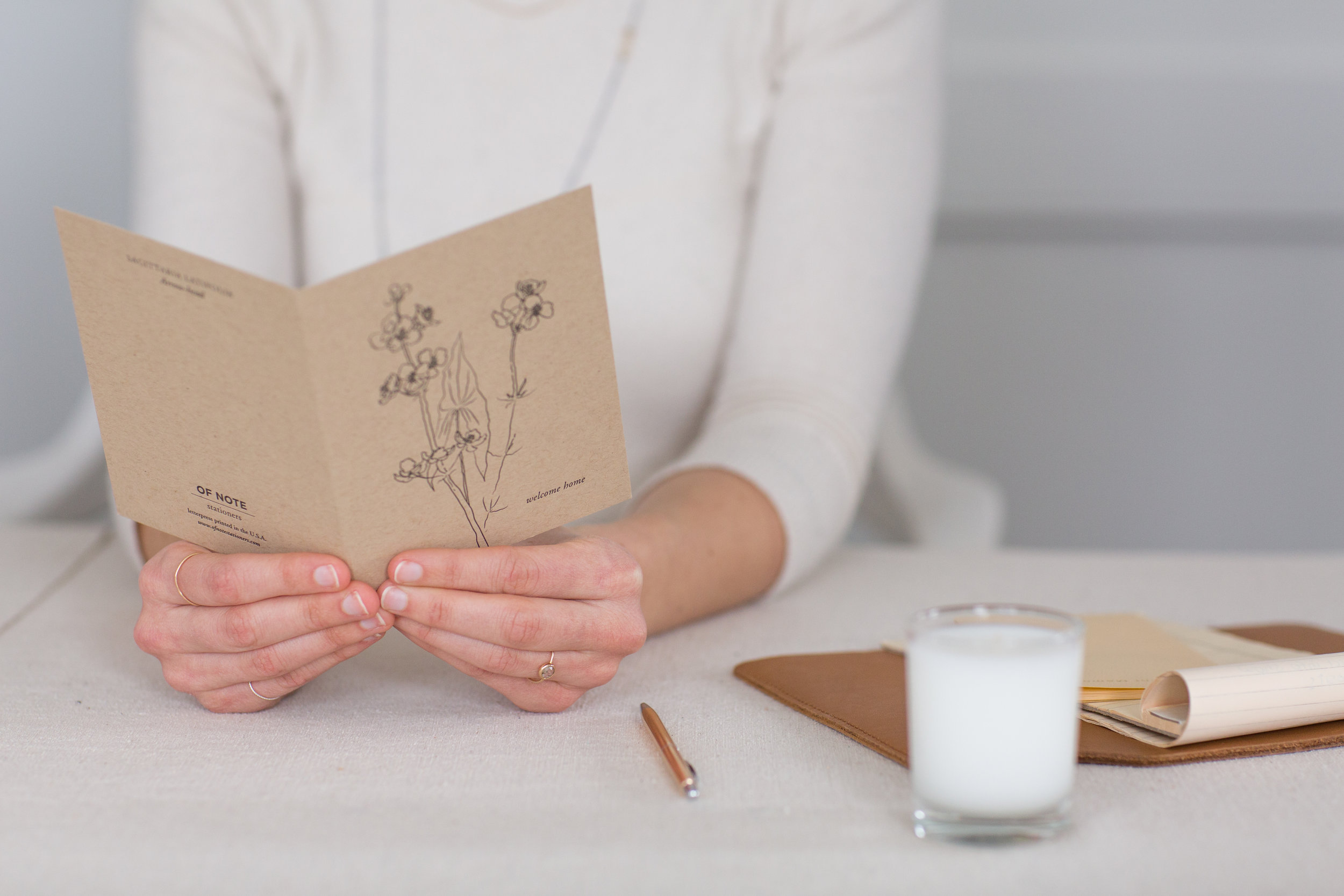 Welcome Home | Of Note Stationers