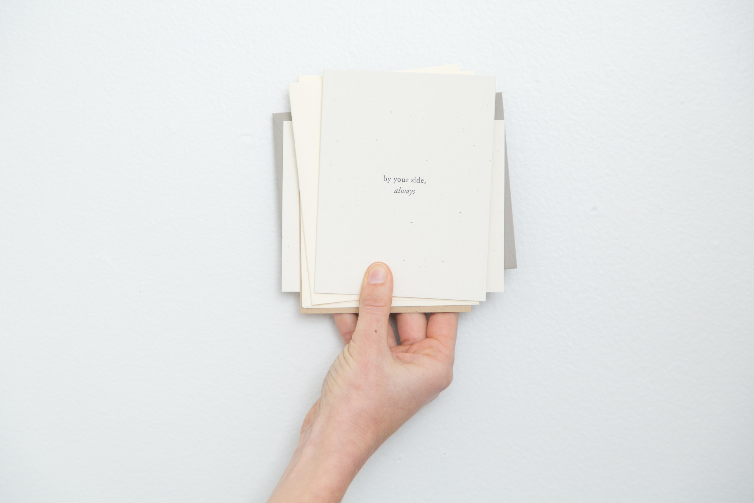 By your side | Of Note Stationers
