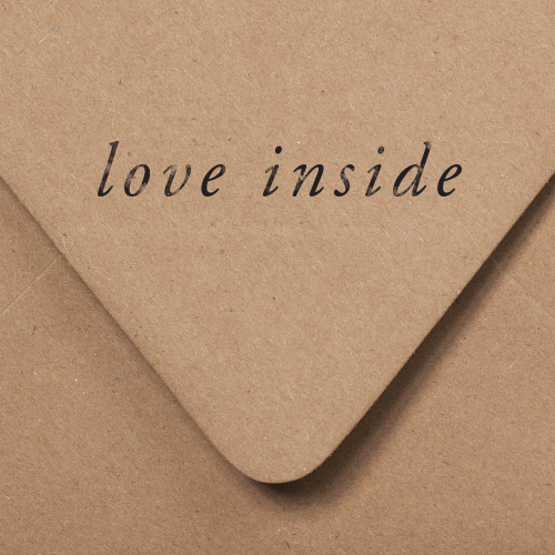 Love Inside Stamp | Of Note Stationers