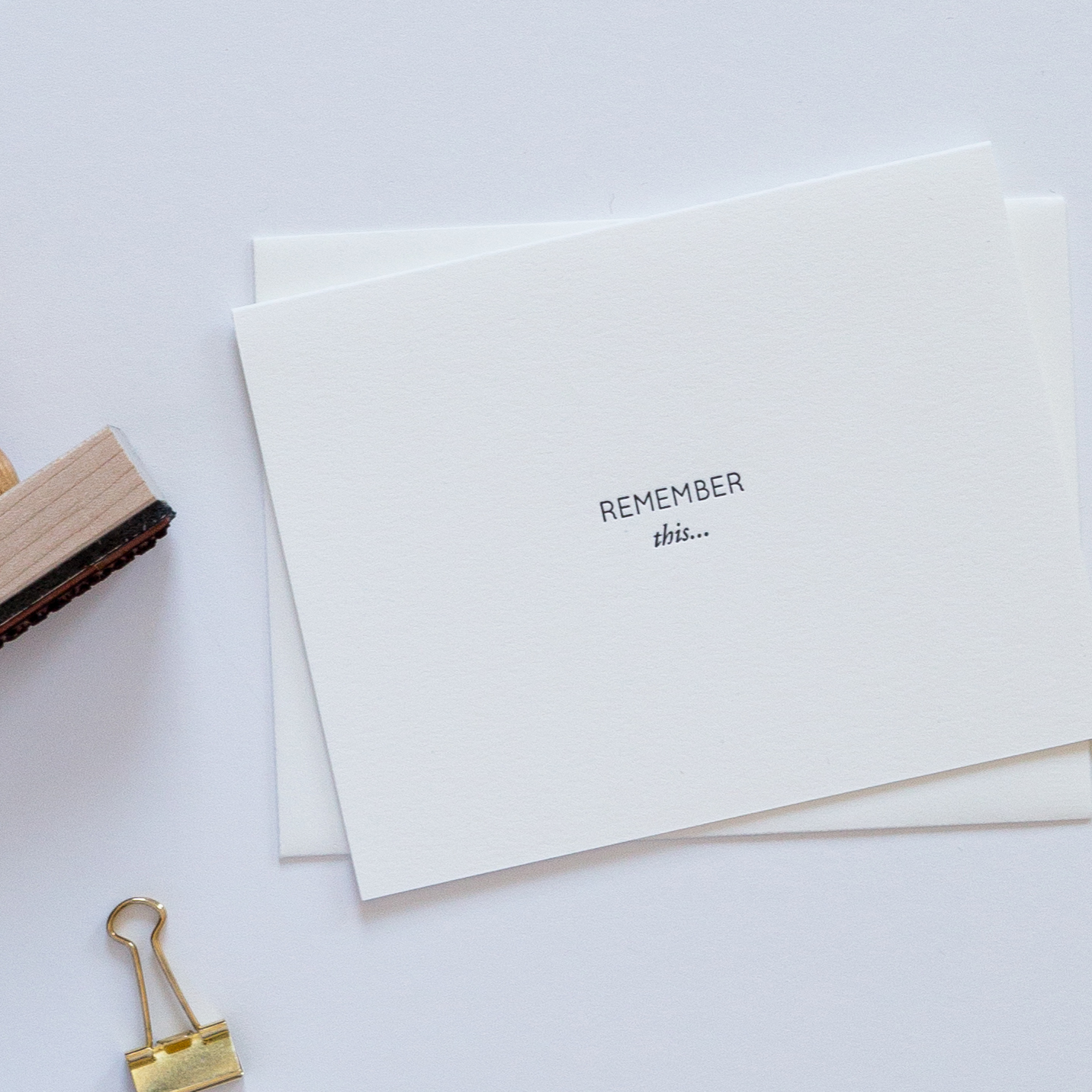 Remember This | of Note Stationers