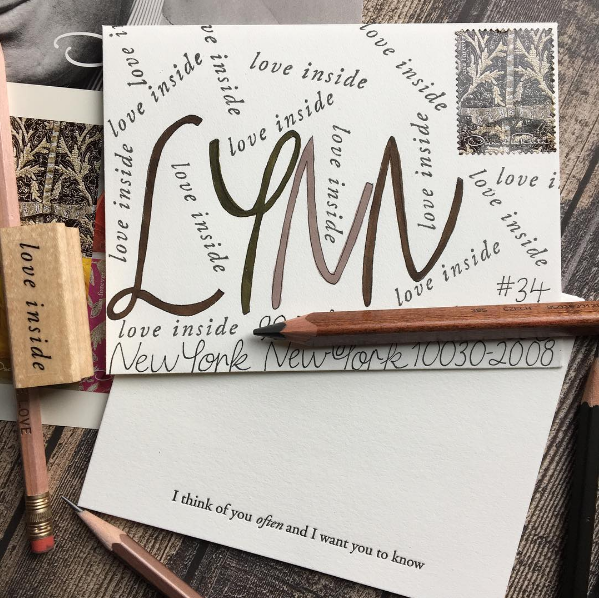 We love how  @devotediarist  also put our  Love Inside stamp  to use!