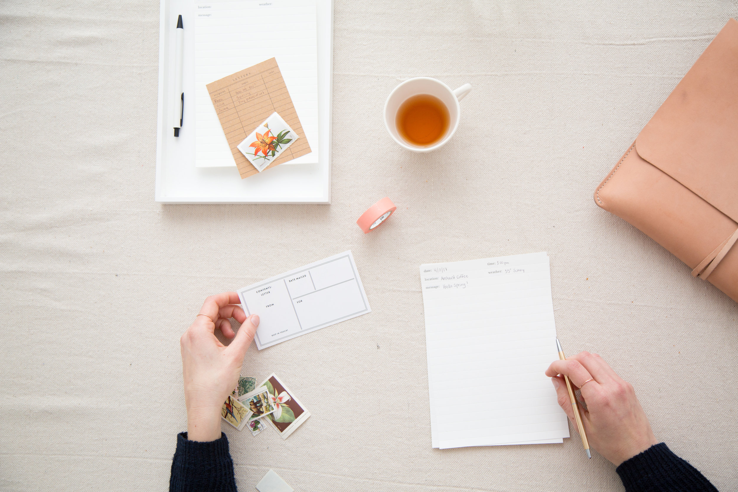 The working world is fast paced in a very different way than the fast pace of school. It's important to find time to slow down. Letter writing is an excellent way to pause, reflect, and re-connect. This  Letter Writing Essentials  kit will help your grad re-charge meaningfully.