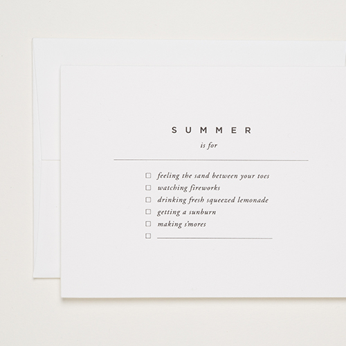 Of Note Stationers Summer To Do List