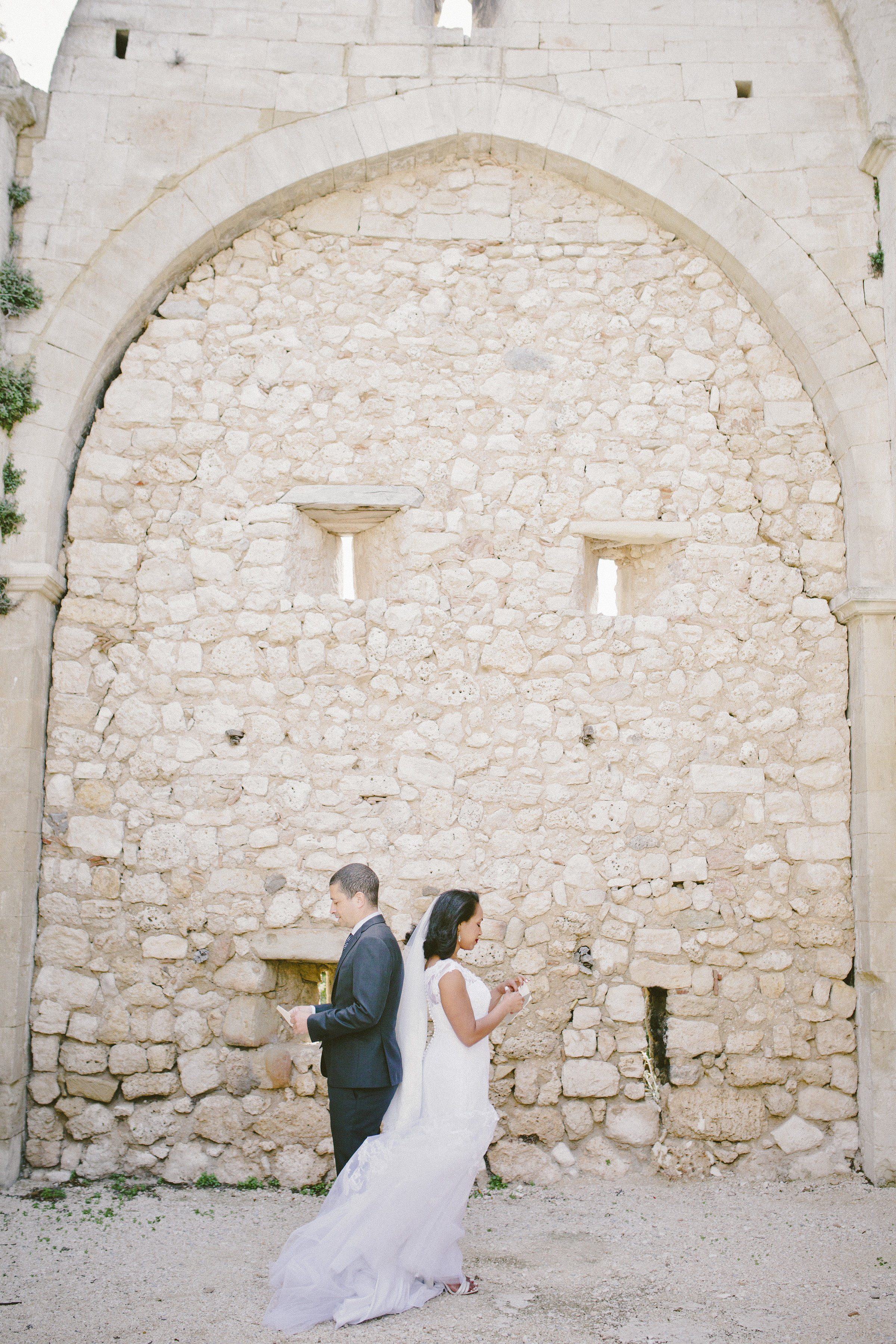 Letter Reading First Look | Of Note Stationers | Amy Emily Photography