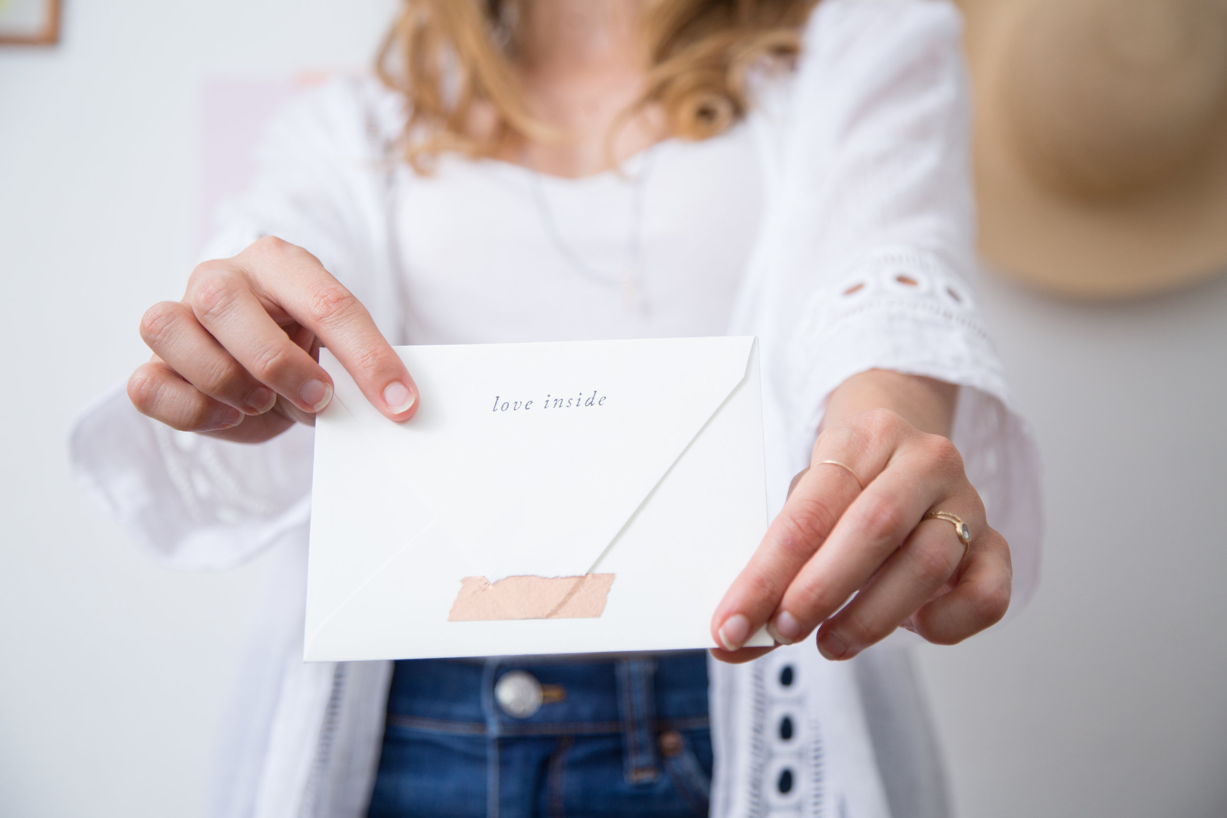 Love Inside | Letter Writing Accent Stamps | Of Note Stationers