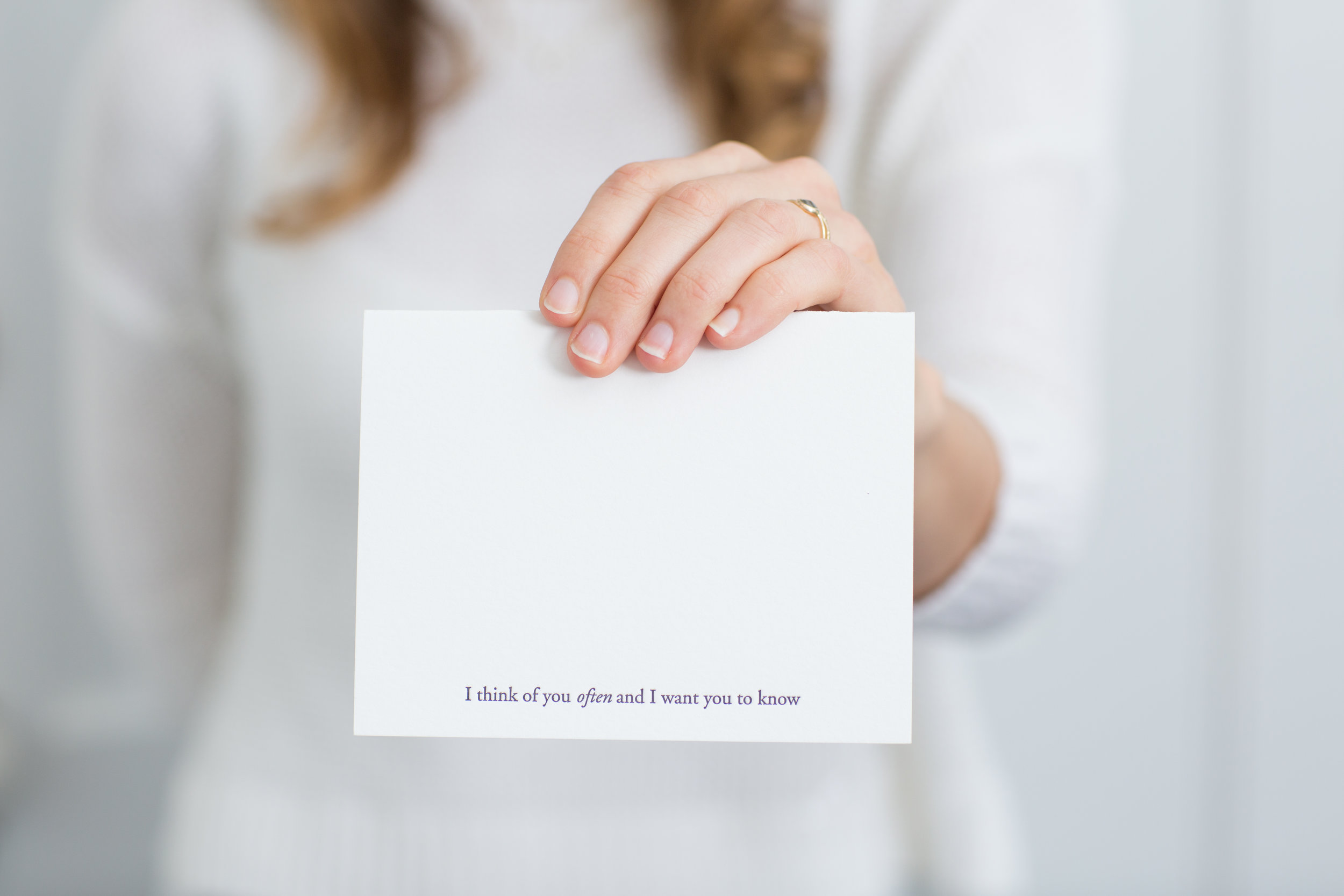 Your Self Worth Comes from Within | Of Note Stationers