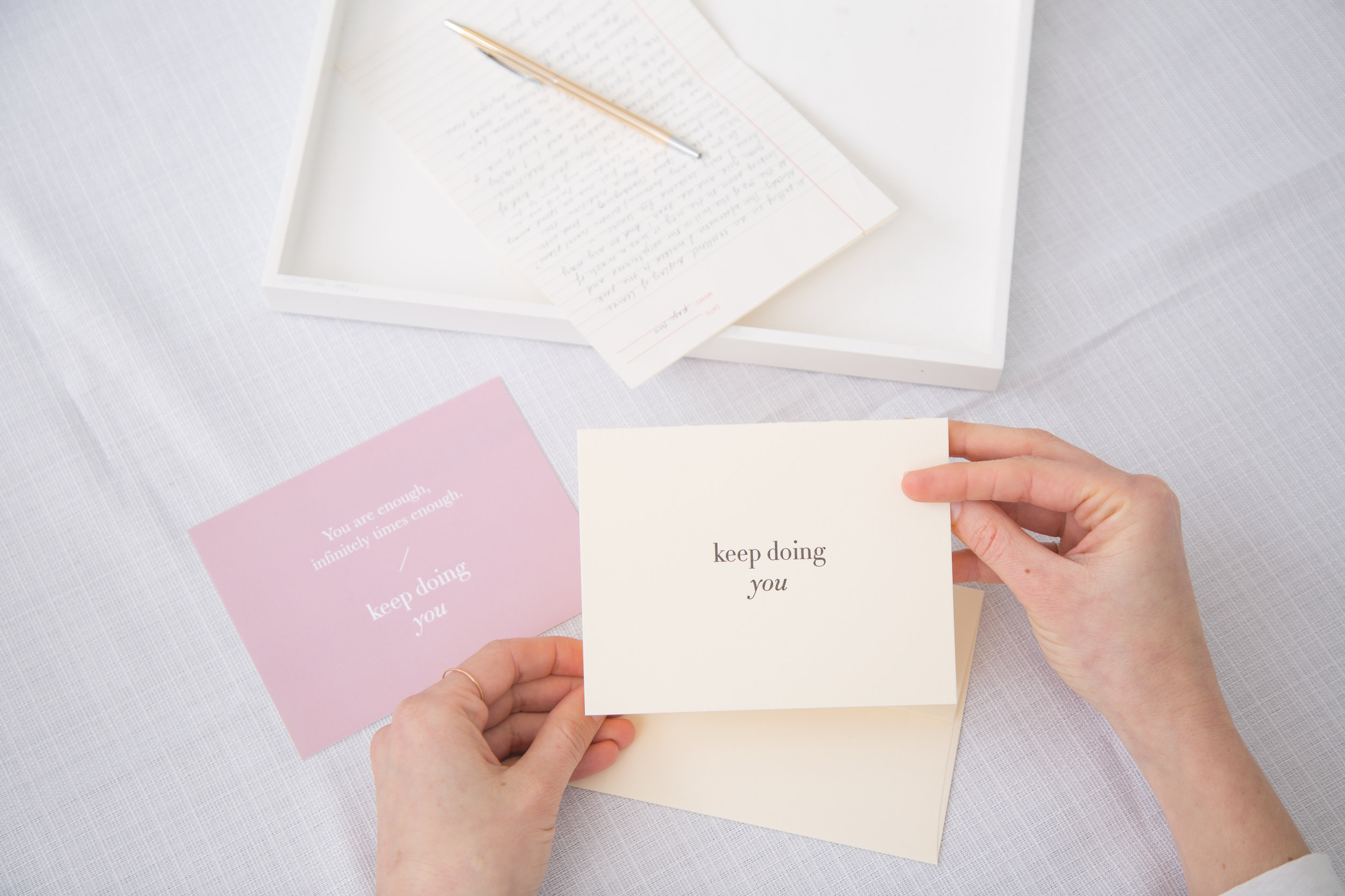 Pass it On letter writing kit by Of Note Stationers