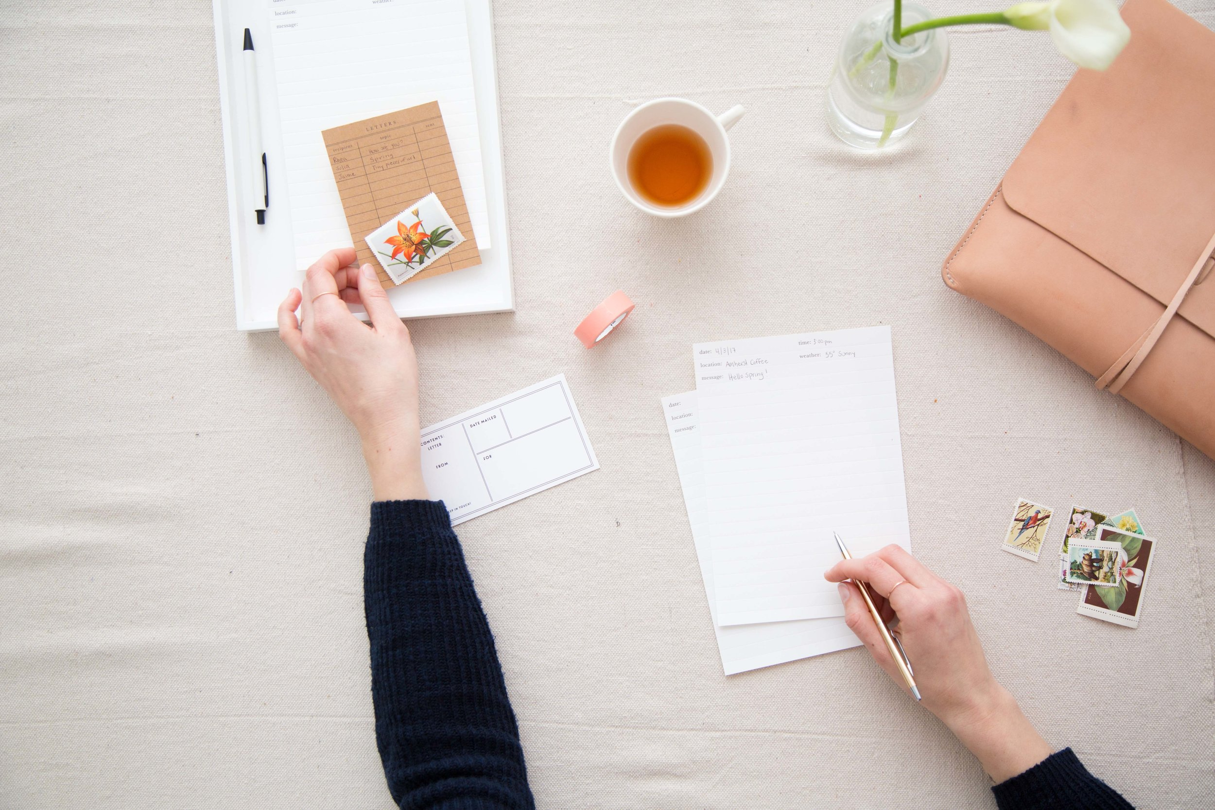 How Letter Writing Creates Connection | Of Note Stationers