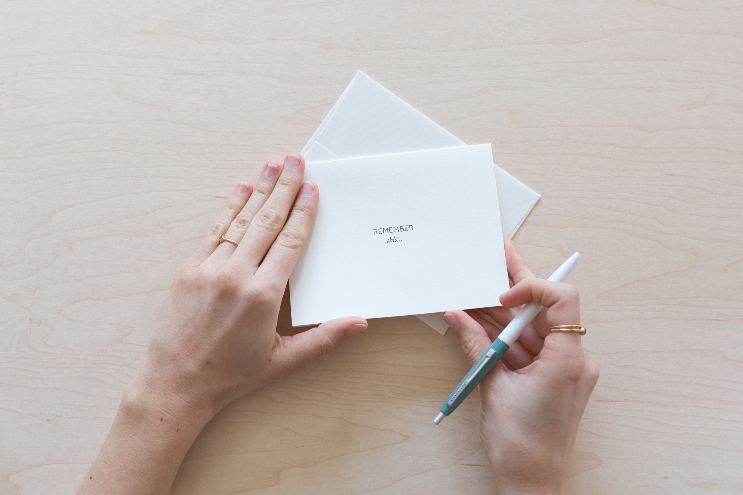 Preserve Your Wedding Memories in a Note | Share with your partner on your anniversary | Of Note Stationers