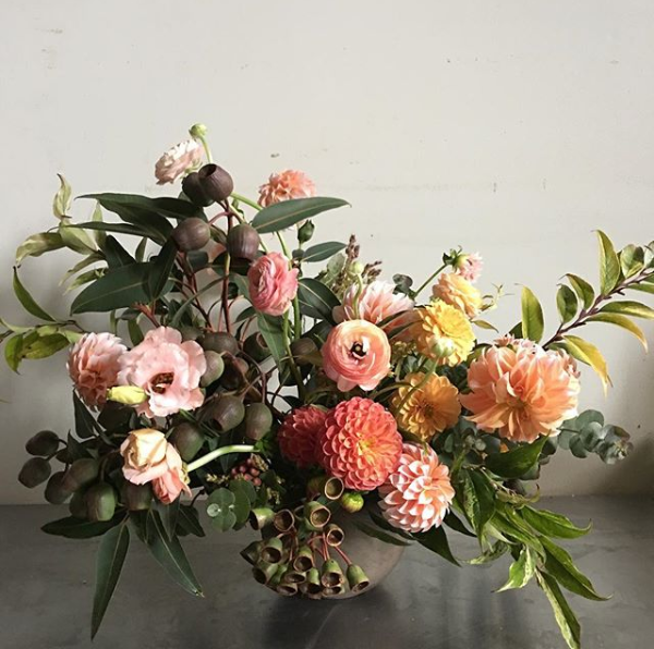 Floral arranging with Foret Design Studio | Of Note Stationers