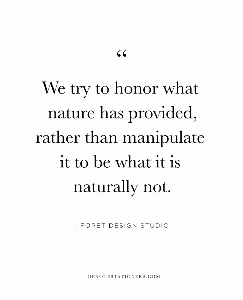 Floral arranging as a meditative practice, an interview with Foret Design Studio | Of Note Stationers