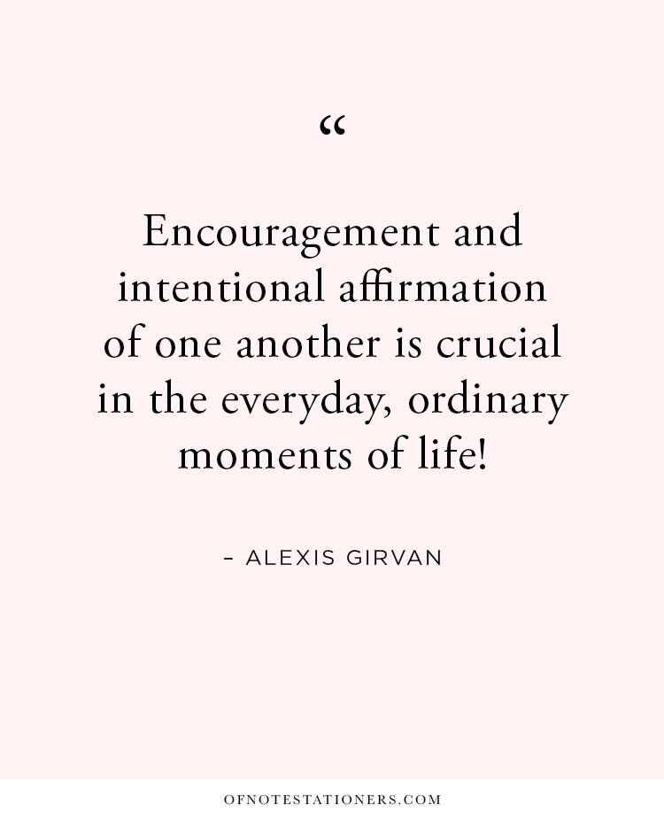 Recognition. Affirmation. Gratitude.