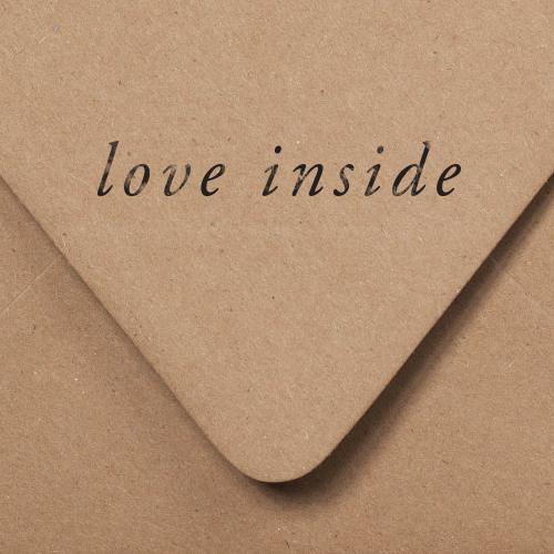 Love Inside Stamp