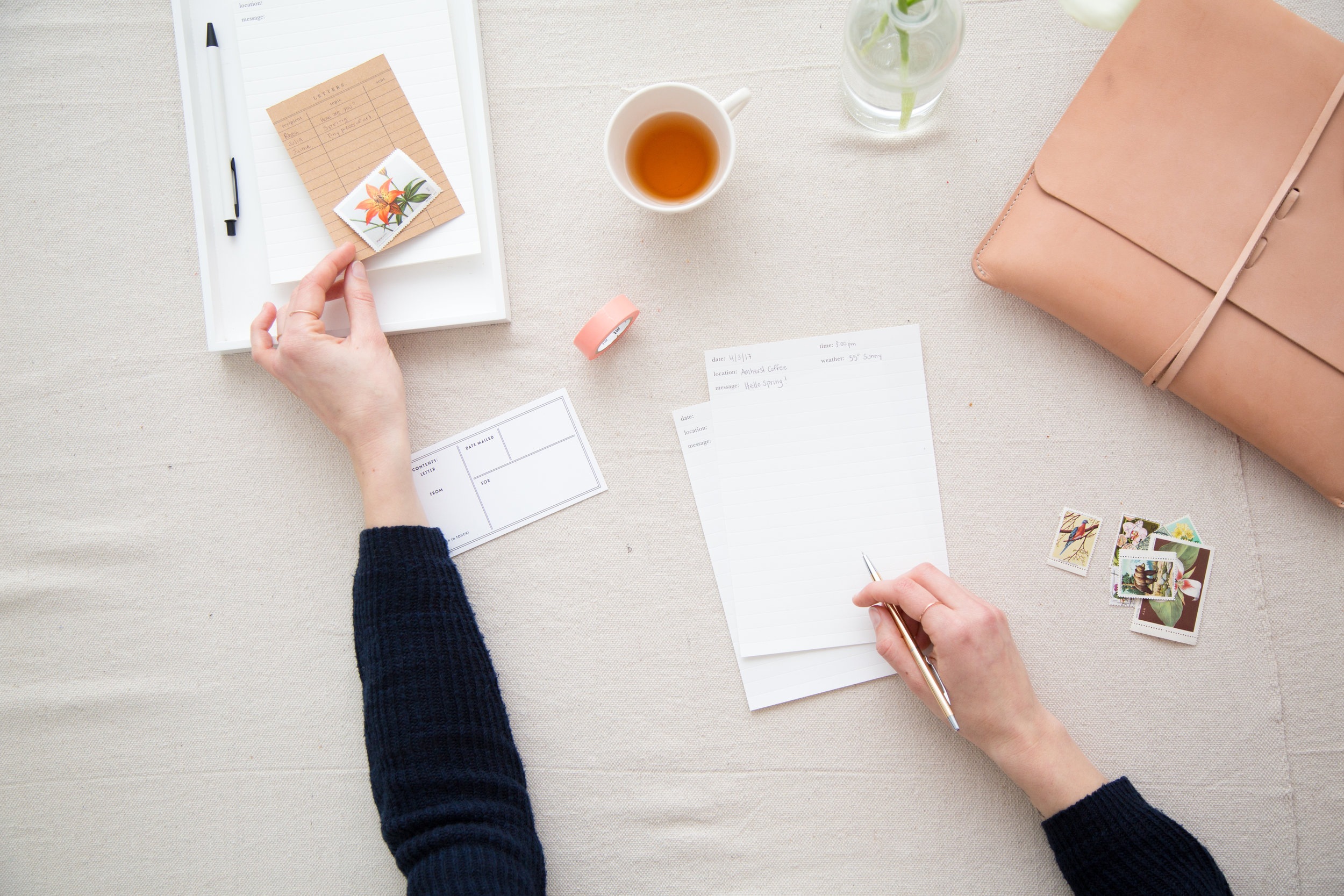 How Letter Writing Creates Connection