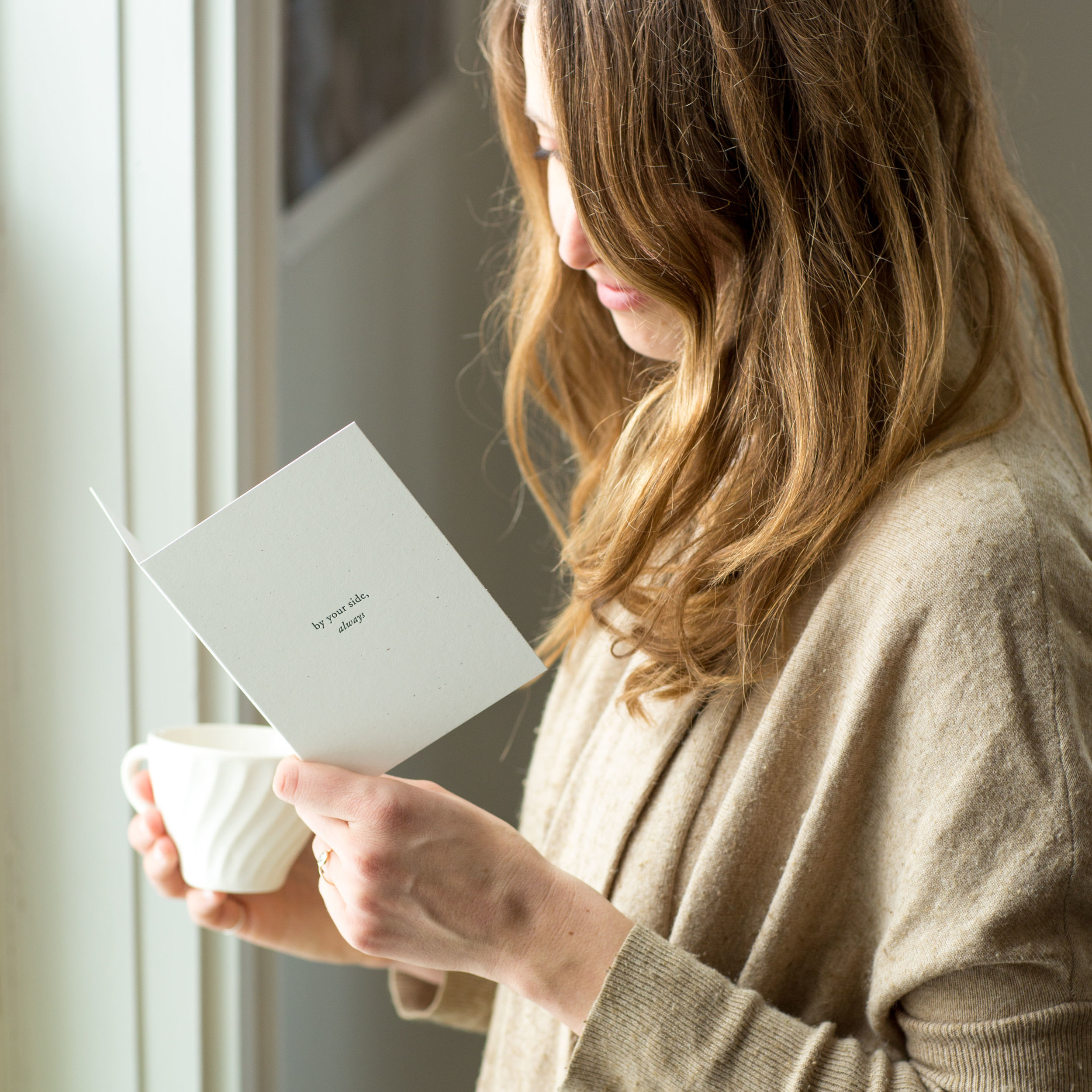 By your side always | Greeting cards to support your Sistering | Not sure what you mean, check out this blog post! | Of Note Stationers