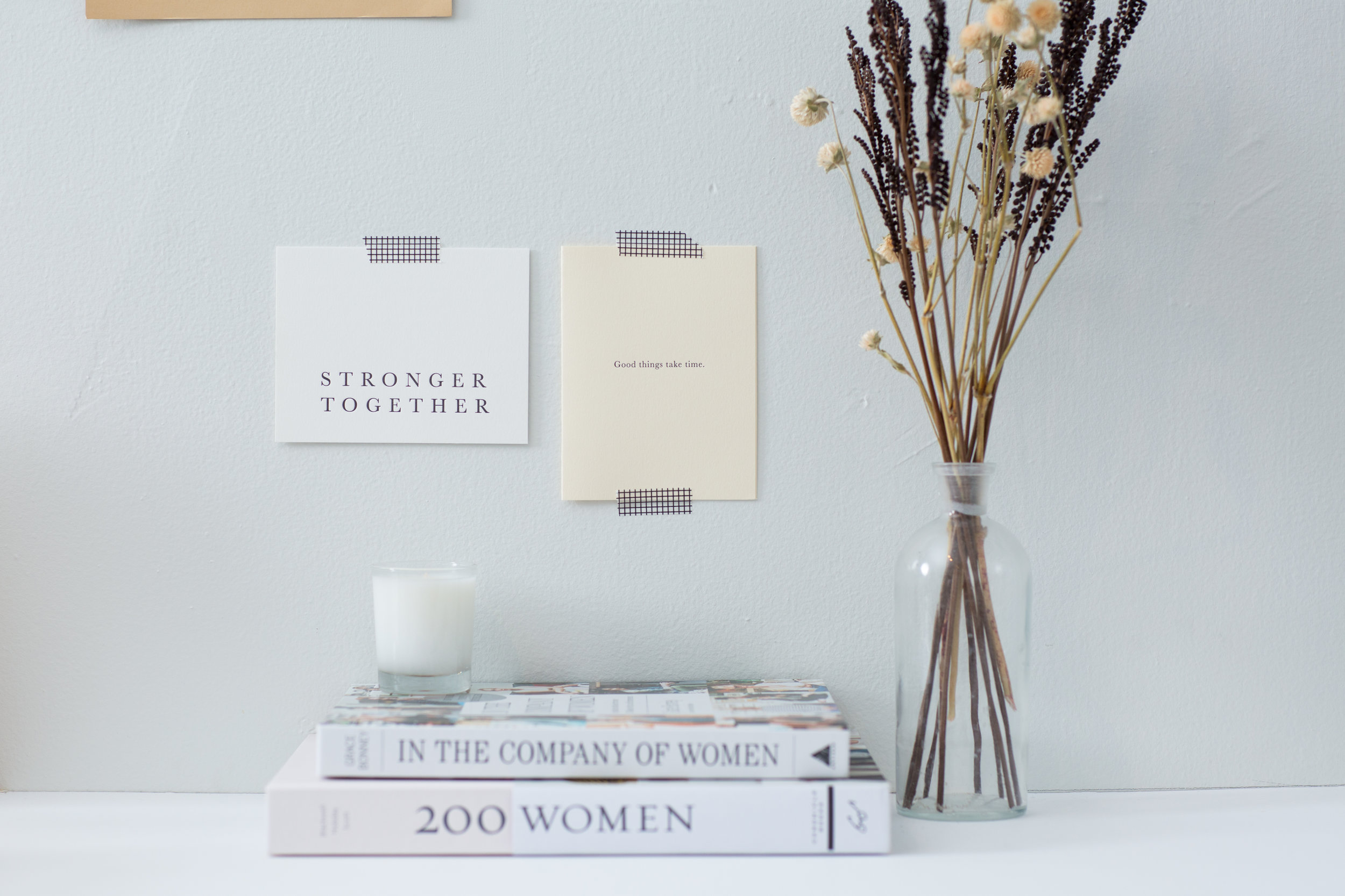 Stronger Together | In honor of Sistering and International Women's Day we are releasing this new flat note | Click to learn more