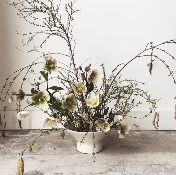The Meditative Practice of Floral Arranging