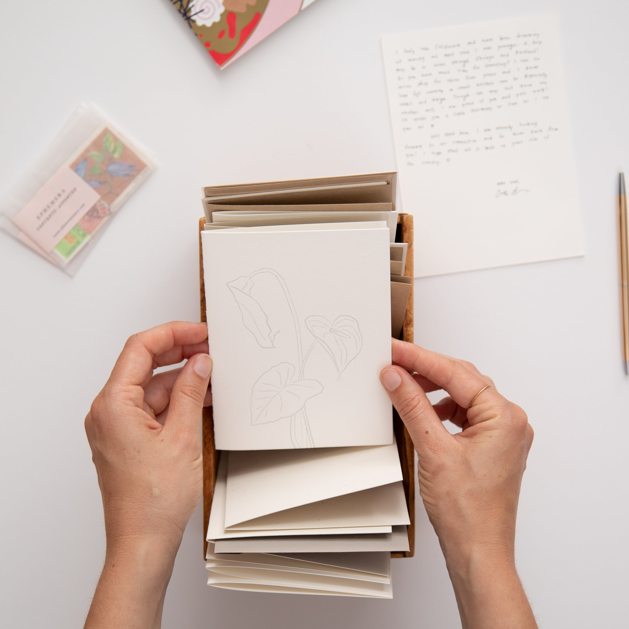 20 Day Card set | 40% off in honor of National Letter Writing Month | Of Note Stationers