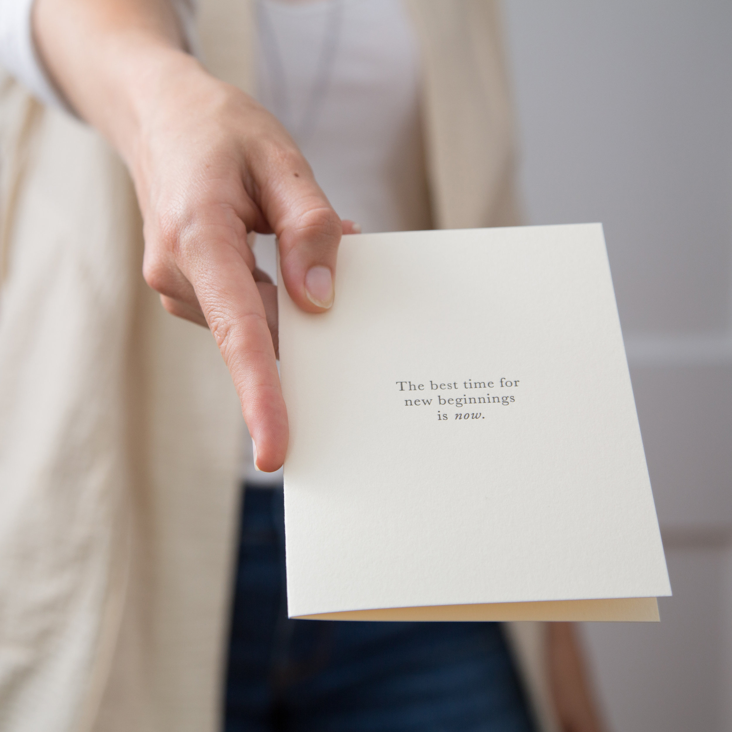 Checking in with your intentions | Of Note Stationers