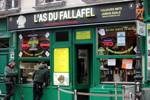 The best thing to eat in Paris that's not French food.