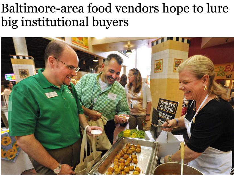 The Baltimore Sun coverage of the  #madeinBaltimore  Vendor Fair event.