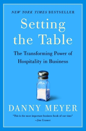 I highly suggest reading Setting the Table by Danny Meyer if you haven't done so already.
