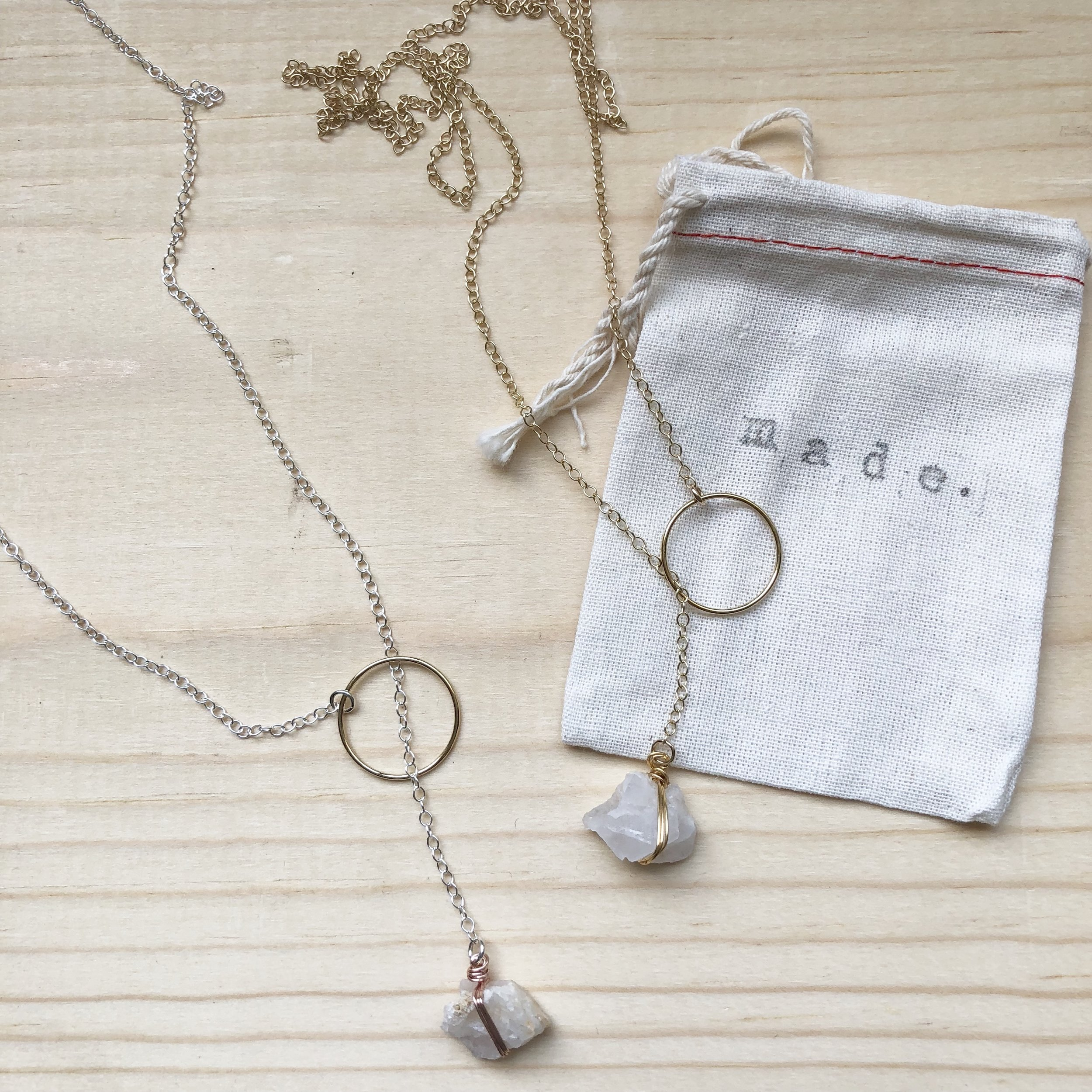 Best Bang for your Buck - Quartz Lariat 3-in-1 Necklace