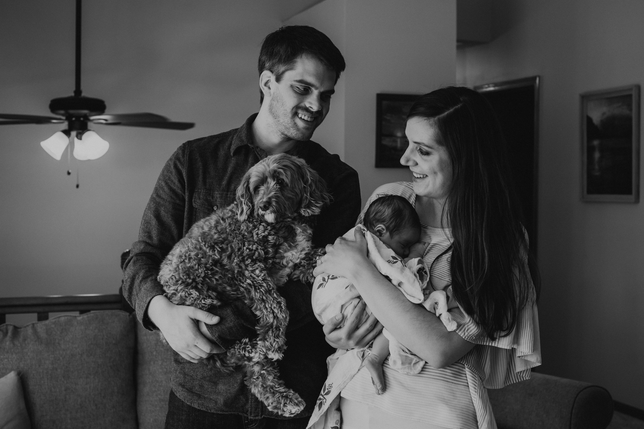"""Cori did an absolutely beautiful job capturing our newborn/family photos. Her passion and talent were so clearly demonstrated and natural in the time we spent with her. We will forever treasure her photos and would, without a doubt, work with her in the future to make sure our special moments are captured so perfectly!"" - Jamie"