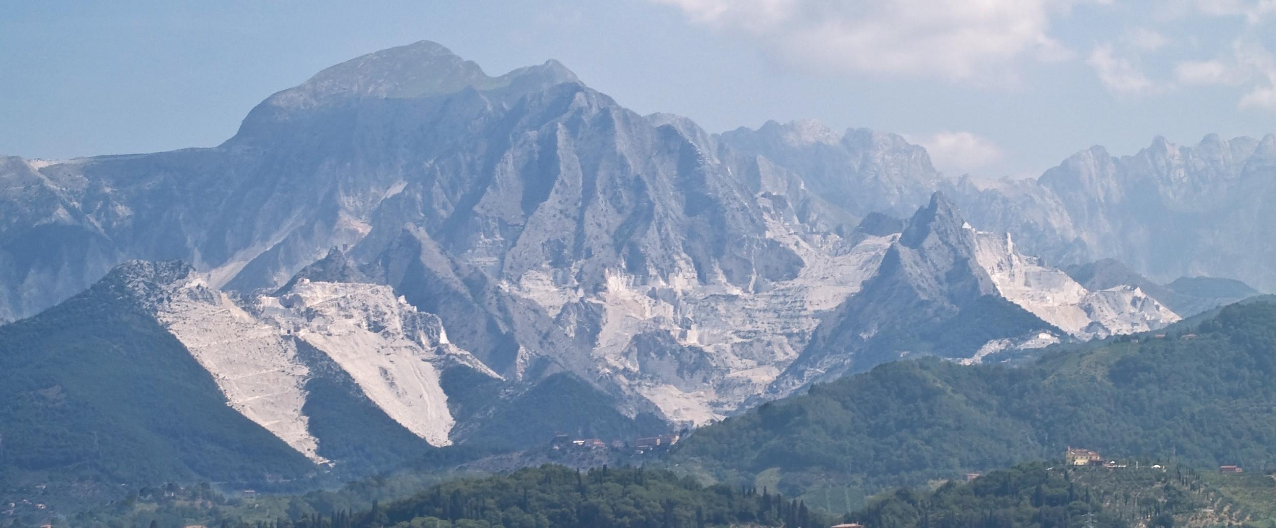 Carrara marble quarries of the Alpi Apuane CC Myrabella