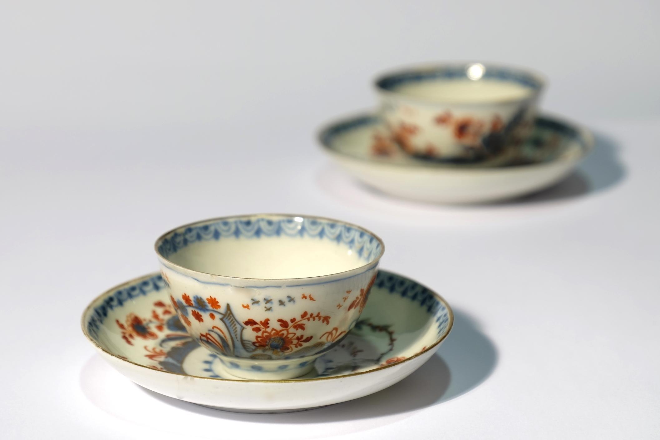 Venetian Porecelain Teacups