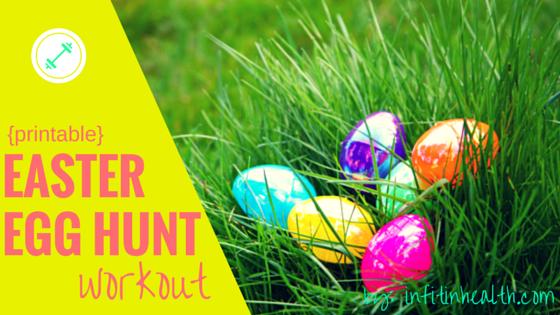 Printable Easter Egg Hunt Workout