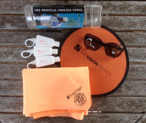 My Sun-Safe Swag Bag c/o The Vision Council.