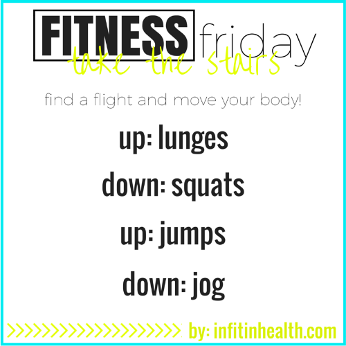 Fitness Friday: take the stairs!